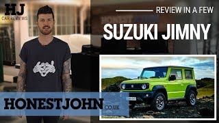 Car review in a few | 2019 Suzuki Jimny - bafflingly brilliant
