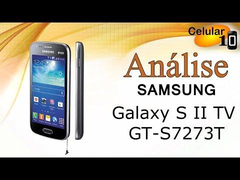 Análise: Samsung Galaxy SII duos TV GT-S7273T ( celular10 )