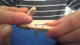 Comment faire un lance cure dent