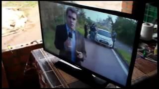 TV LED Samsung Tela escura, sem imagem - UN32FH4205G - Resolvido