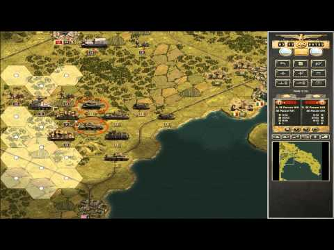 Let´s play Panzer Corps: Taranto Teil 1 (Grand Campaign West 42-43)