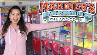 Exploring Mariner's Arcade in Wildwood, New Jersey!