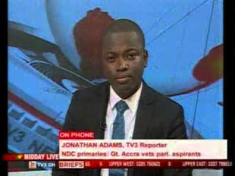 MiddayLive - Greater Accra vet parliamentary aspirants - 8/10/2015