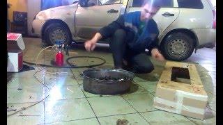 Промывка коленвала - Ютуб видео