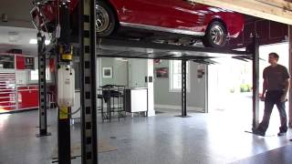 FP8K-DS 8,000lb Capacity, Service and Storage Lift by North American Auto Equipment