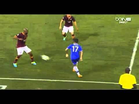 Amazing Goal - Frank Lampard |Chelsea vs AS Roma|