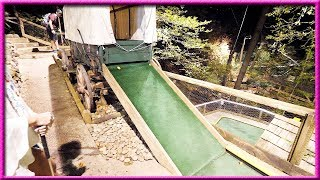 NIGHTTIME MINI GOLF ON THE SIDE OF A MOUNTAIN! | Brooks Holt