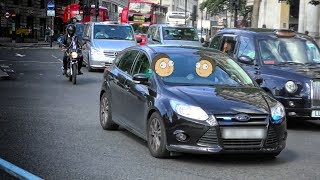 London Police - two Unmarked Ford Focus cars responding