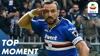 Quagliarella has now scored 22 goals! | Sampdoria 2-0 Genoa | Top Moment | Serie A