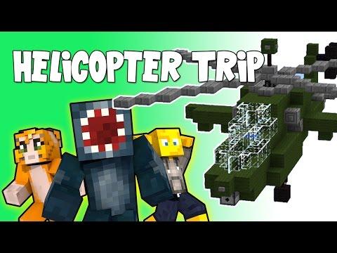 Minecraft - Crazy Craft 2.2 - Helicopter Trip! [50]