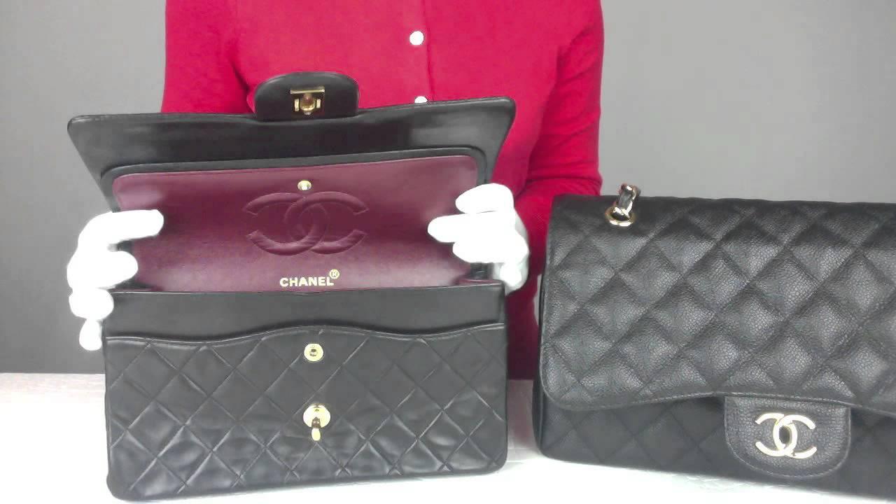 Chanel boy bag inside