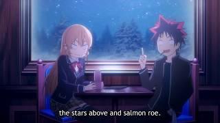 Shokugeki no Souma - Erina & Soma talking (erina likes talking to soma)