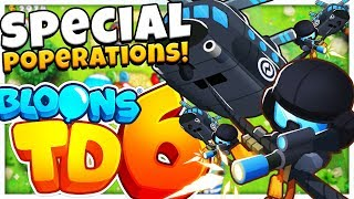 SPECIAL POPERATIONS MARINE TIER 5 SUPER TOWER - Bloons TD 6 (BLOONS TOWER DEFENSE 6)