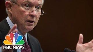 Jeff Sessions Invokes Nancy Reagan to Fight Opioid Epidemic | NBC News