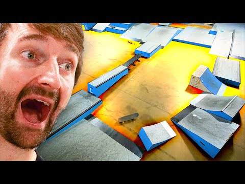 FLOOR IS LAVA SUMMER SKATEBOARD OBSTACLE COURSE!