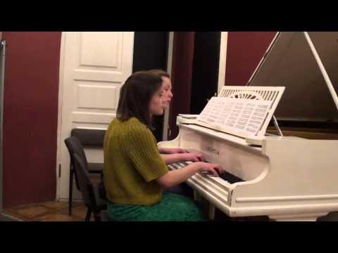Дворжак Антонин - Славянский танец №5, в четыре руки