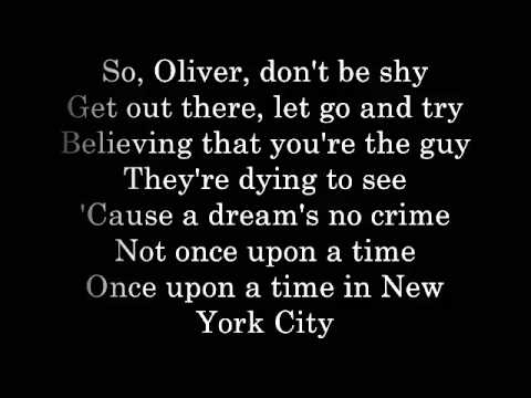 Once Upon a Time in New York City Lyrics Lyric Video