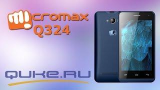 Обзор  Micromax Q324 ◄ Quke.ru ►