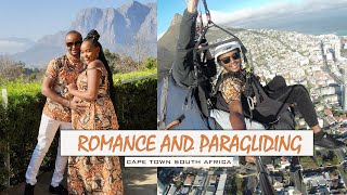 ROMANCE AND PARAGLIDING  IN CAPE TOWN