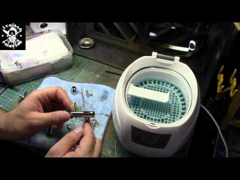 Ultrasonic cleaner *Pro Tip*