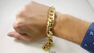 14mm miami cuban link bracelet