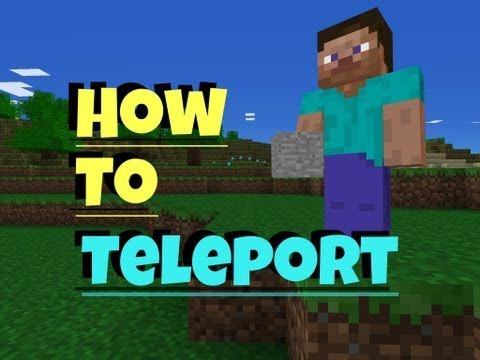 ✔ Minecraft PE How to Teleport