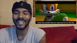 Luigi Vs. Tails Rap Battle/Reaction | Krimreacts #182