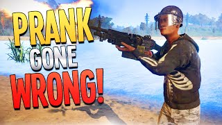 PRANK GONE WRONG! - Rust ft. Faceless