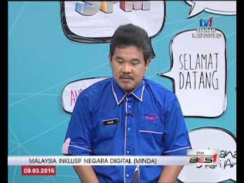 SPM - MALAYSIA INKLUSIF NEGARA DIGITAL (MINDA) [9 MAC 2016]