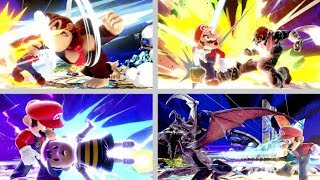 Super Smash Bros. Ultimate - All Characters with Zoomed In/Devastating Blows
