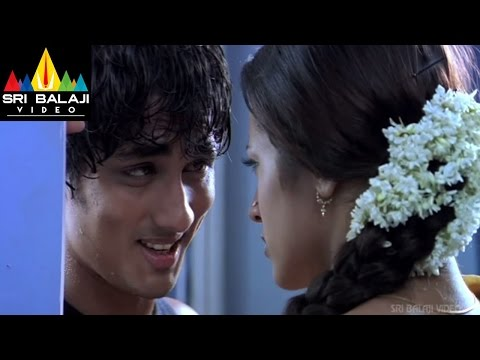 Siddhartha Towel Dance Scene - Nuvvostanante Nenoddantana Movie...