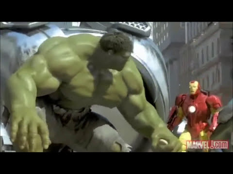 Spider Man, Iron Man and the Hulk Full and HQ
