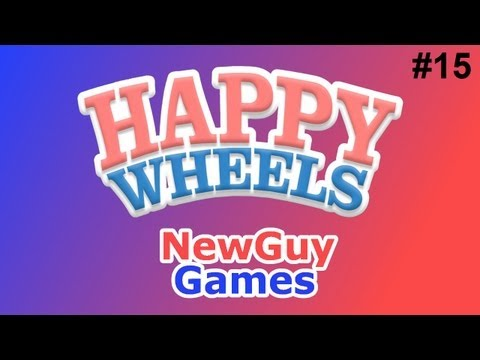 Happy Wheels | w/NewGuy Ep15. | Slenderman! D=