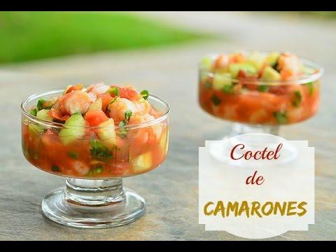 Receta facil Coctel de Camarones / por Alicia Borchardt