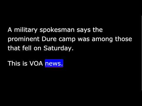 VOA news for Tuesday, May 19th, 2015