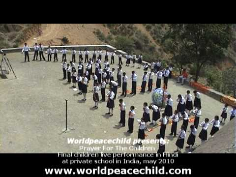 Prayer For The Children In Hindi Final Children Performance At Private School India.mpg video