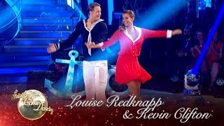 Louise Redknapp & Kevin Clifton Jive to 'Jump, Jive And Wail' - Strictly Come Dancing 2016: Week 1