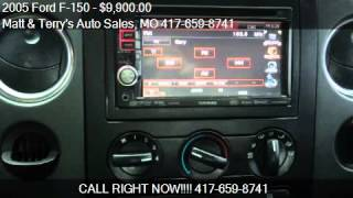 video This 2005 Ford F-150 is for sale in Joplin, MO 64801 at Matt and Terry's Auto Sales. Contact Matt and Terry's Auto Sales at www.mattandterrysautosales.com or www.carsforsale.com/ve...