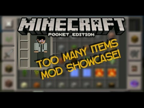 [0.13.1] Too Many Items Mod By MCMrArm!   TMI Mod Showcase!