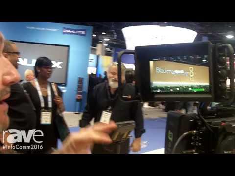InfoComm 2016: Blackmagic Design Previews Its Blackmagic URSA Studio Viewfinder