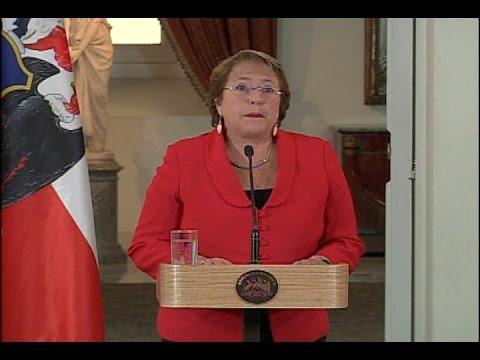 "Michelle Bachelet sobre caso Caval: ""No ha nublado mis responsabilidades"""
