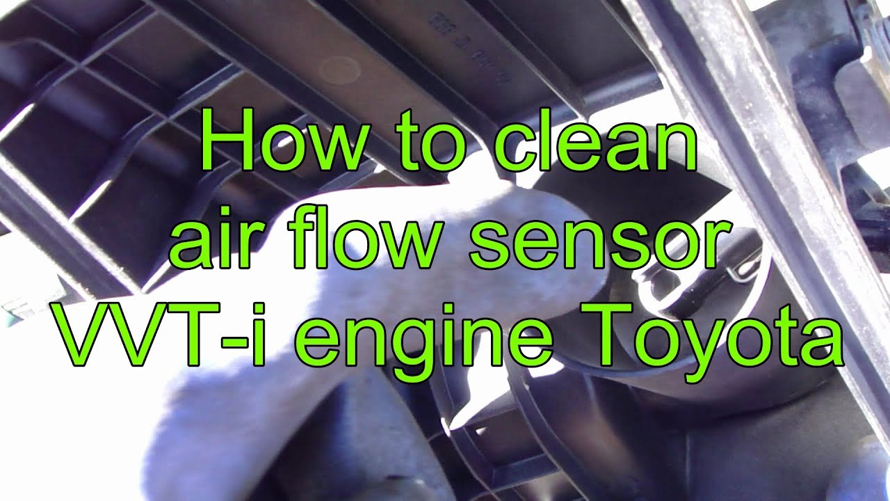how to clean air flow sensor
