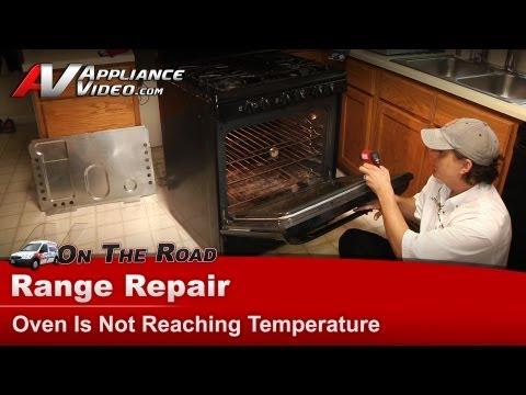 Kenmore Range Repair - Oven Is Not Reaching Temperature - 79078859602
