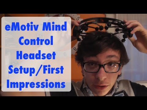 Emotiv Mind Control Headset Setup & First Impressions [FutureInventions]