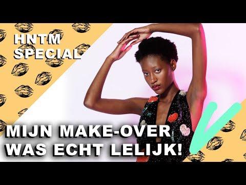 HNTM: LATANYA smeert EI op haar gezicht! | Hollands Next Top Model Special - CONCENTRATE VELVET