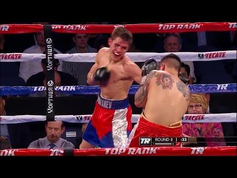Konstantin Ponomarev VS Steve Claggett :: TopRank :: Rios vs  Alvarado