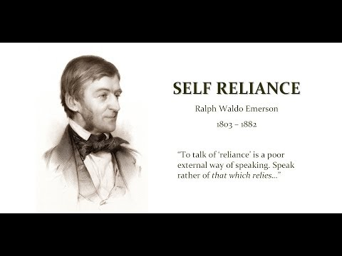 Emerson self reliance essay pdf
