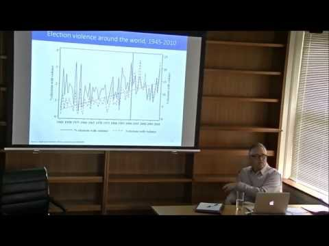 Richard Frank 'Election violence in Nepal' 11 Nov 2014, University of Sydney