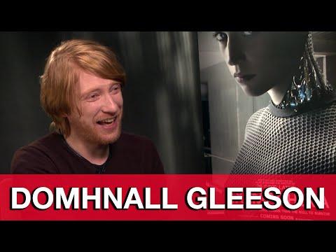 Domhnall Gleeson Interview - Ex Machina