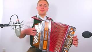 Teiflstoana Polka  Steirische Harmonika  Stefan Kern  Quetschn Academy